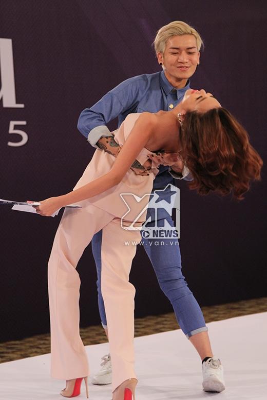 Thanh Hằng cũng phối hợp với BB Trần để chàng trai này hoàn thành tốt được phần thử thách mà cô giao cho. Nữ giám khảo quyền lực tỏ ra rất hài lòng và thích thú với màn trình diễn này. Nhưng chính cô cũng e ngại tài năng của BB Trần lại nằm ở lĩnh vực diễn xuất chứ không phải ở lĩnh vực người mẫu.