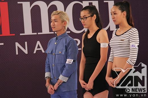 """Trong nhóm 3 thí sinh của BB Trần còn có """"Người đẹp giàn khoan"""" Phan Thu Phương của Hoa hậu Đại dương 2014 và Phạm Võ Tố Quyên."""