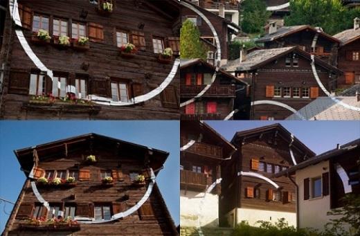 Nhưng thực ra đây là sự phối hợp nhịp nhàng của một ngôi làng ở Thụy Sĩ.