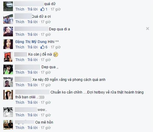 Những bình luận chia vui đầy ngưỡng mộ của bạn bè. - Tin sao Viet - Tin tuc sao Viet - Scandal sao Viet - Tin tuc cua Sao - Tin cua Sao