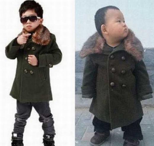 """Người mẫu quá """"đỉnh"""", nhưng chiếc áo khoác lại quá tệ!"""