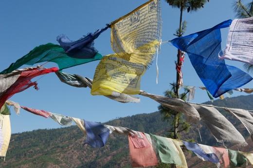 Vào ngày này, người ta thường treo những lá cờ trên các sợi dây bên sườn núi của dãy Himalaya. Các lá cờ này chứa đầy lời nguyện cầu may mắn, hạnh phúc, sức khoẻ... cho tất cả mọi người.