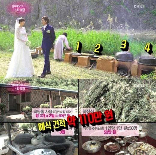 Sao Hàn thích xu hướng làm đám cưới nhỏ và đơn sơ
