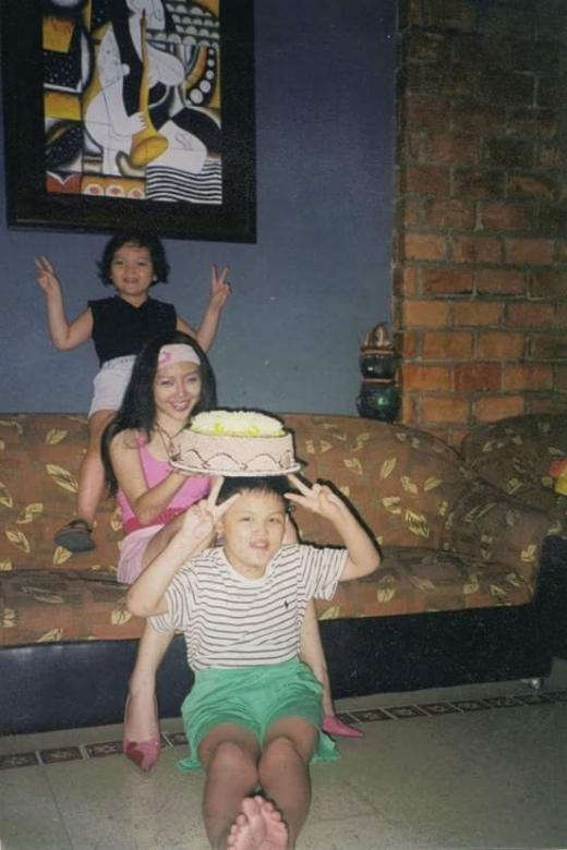 Cưng hết biết với hình ảnh em trai Tóc Tiên lần đầu hé lộ - Tin sao Viet - Tin tuc sao Viet - Scandal sao Viet - Tin tuc cua Sao - Tin cua Sao