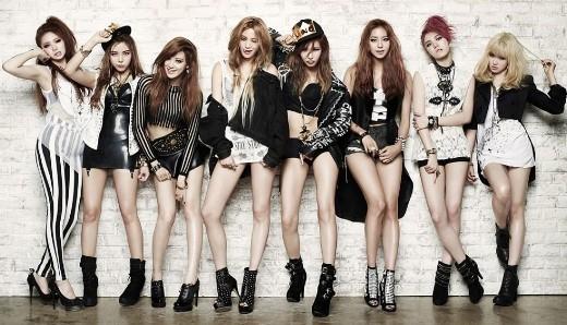 Ngoài A Pink, độ nổi tiếng của Girl's Day và AOA cũng không được đánh giá cao.