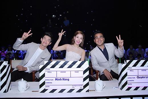 Bộ ba giám khảo: Quang Đăng, Minh Hằng và Quyền Linh - Tin sao Viet - Tin tuc sao Viet - Scandal sao Viet - Tin tuc cua Sao - Tin cua Sao