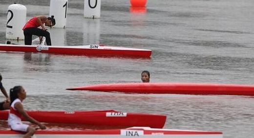 Không biết bơi, vẫn vô địch Sea Games môn chèo thuyền