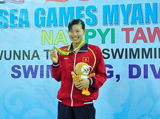 Tại SEA Games 27 diễn ra ở Myanma, Ánh Viên cũng đã giành được tới 6 huy chương bao gồm 3 HCV, 2 HCB, 1 HCĐ. Đồng thời, cô phá 2 kỷ lục SEA Games ở các cự ly 200 m ngửa và 400 m hỗn hợp.
