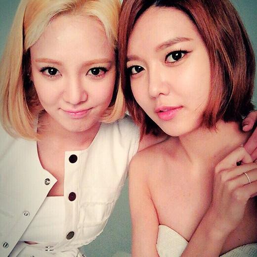 Hyoyeon, Sooyoung