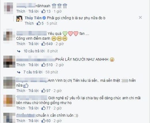 Khá nhiều fans bày tỏ sự ngưỡng mộ và gửi lời chúc đến cặp đôi vàng của showbiz Việt. - Tin sao Viet - Tin tuc sao Viet - Scandal sao Viet - Tin tuc cua Sao - Tin cua Sao