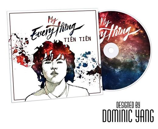 Bìa single My Everything của Tiên Tiên được Yang hoàn thành trong vòng... 30 phút.