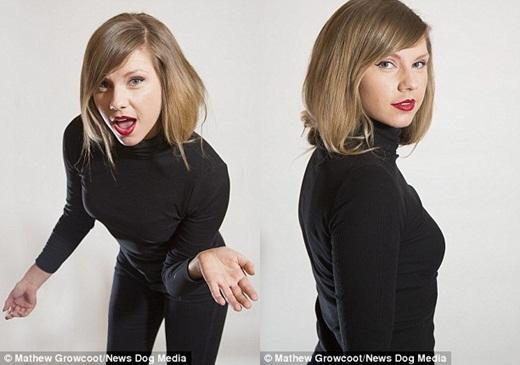 Vẻ ngoài giống nhau đếnkinh ngạcgiữaRose Nicholasvà nữ ca sĩTaylor Swift