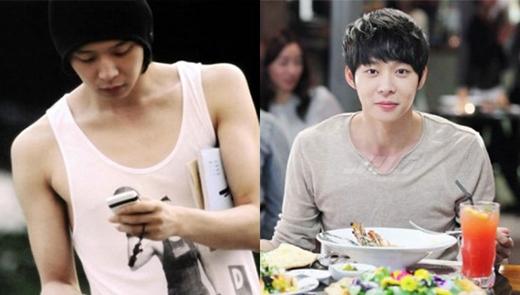 Trong danh sách này không thể không kể đến Yoochun.Dù sở hữu một gương mặt baby nhưng anh lại có một bờ vai trưởng thành và vạm vỡ.