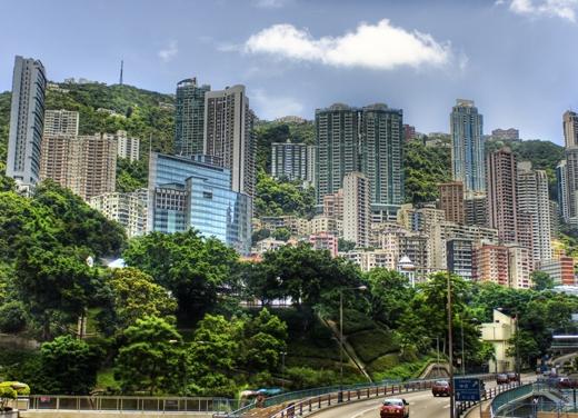 Có thể nói không một thành phố nào có nhiều cây xanh hơn ở nơi này.