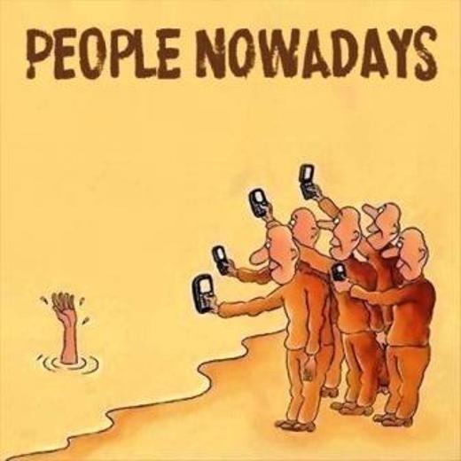 Sự lệ thuộc vào mạng xã hội khiến người ta trở nên vô cảm và tàn nhẫn