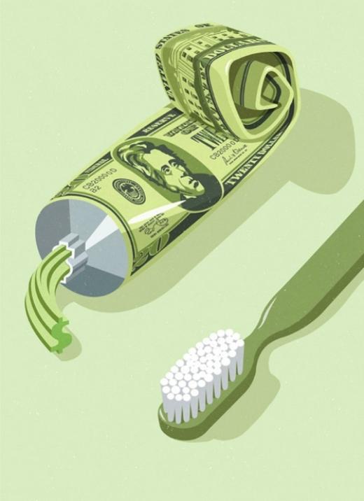 Tiền bạc là thứ khiến chúng ta phải chắt bóp hàng ngày
