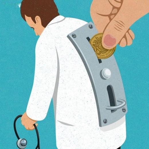 Khái niệm y đức ngày nay đã bị thay đổi thành quy luật của đồng tiền