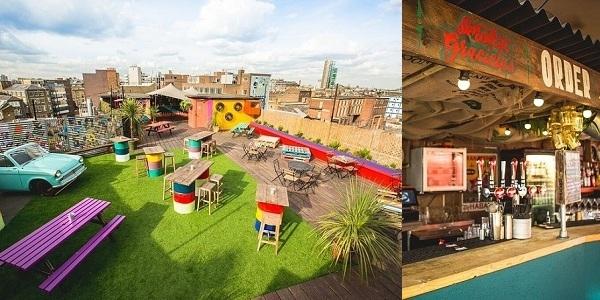 Ngây ngất với những quán bar sân thượng đẹp nhất London
