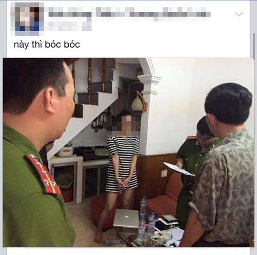Cư dân mạng xôn xao về thông tinThánh Cô Cô Bócđang bị công an bắt giữ để điều tra