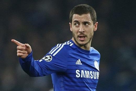 2. Eden Hazard (Chelsea, 99-110 triệu bảng).