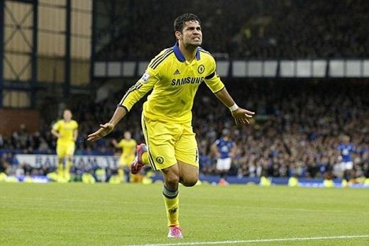 8. Diego Costa (Chelsea, 52-57 triệu bảng).