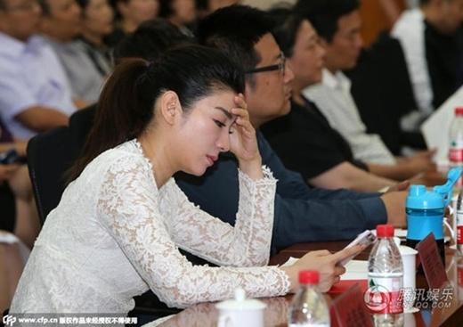 Huỳnh Dịch trong sự kiện hôm qua.