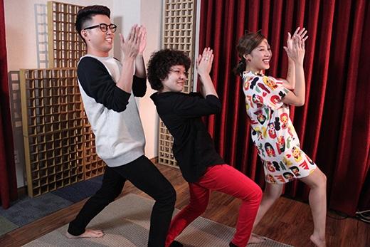 Cả ba phối hợp thể hiện một vũ điệu độc đáo