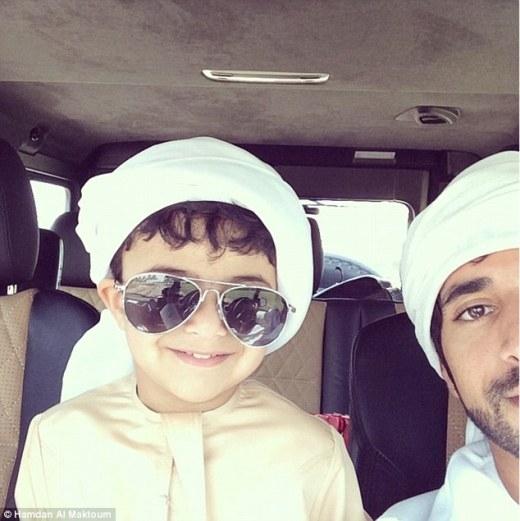 Cuộc sống sang chảnh đáng mơ ước của dân chơi nhí xứ Dubai