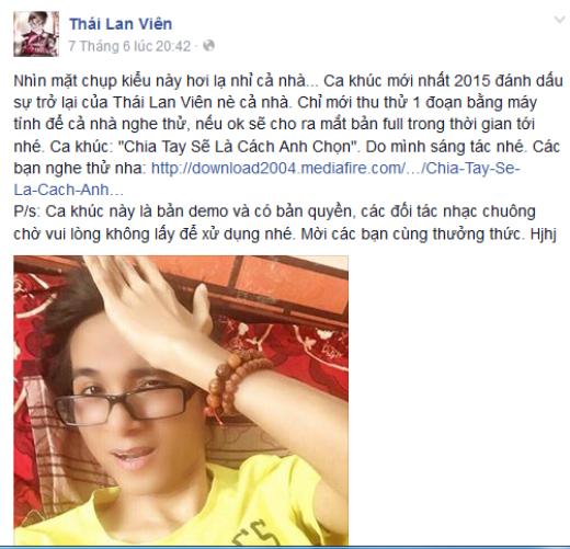 Sự hồi phục như một phép màu của nam ca sĩ Thái Lan Viên