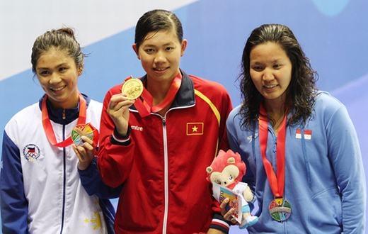 Tất cả đã tạo nên một kình ngư ngoài hành tinh Ánh Viên chiến thắng - niềm tự hào của nền thể thao và dân tộc Việt Nam.