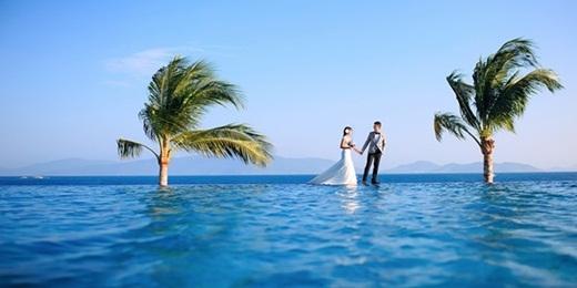 """Ngắm loạt ảnh cưới """"long lanh"""" của cặp đôi Nha Trang"""