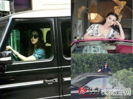 Nữ diễn viên thường mua các dòng xe cao cấp của Mercedes hay SUV.