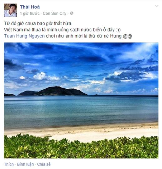Lời hứa uống sạch nước biển gây sốc của diễn viên Thái Hòa. - Tin sao Viet - Tin tuc sao Viet - Scandal sao Viet - Tin tuc cua Sao - Tin cua Sao