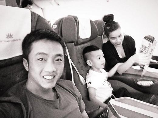 Một trong những hình ảnh gia đình của Hồ Ngọc Hà được chia sẻ lên mạng xã hội. - Tin sao Viet - Tin tuc sao Viet - Scandal sao Viet - Tin tuc cua Sao - Tin cua Sao