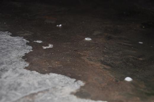 Mưa đá đã xuất hiện tại quận Bình Thạnh