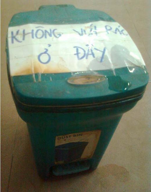 Không vứt rác ở thùng rác, vậy vứt ở đâu?