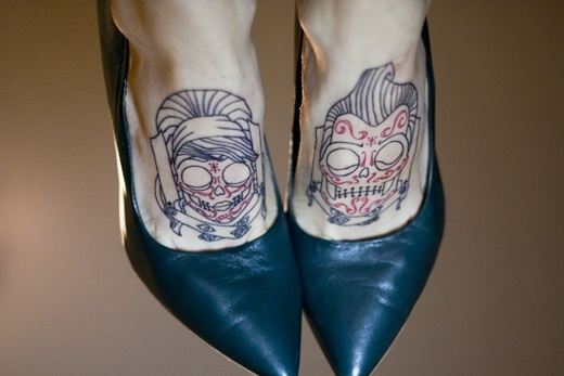 Mê mẩn trước những hình xăm mu bàn chân đẹp ảo diệu