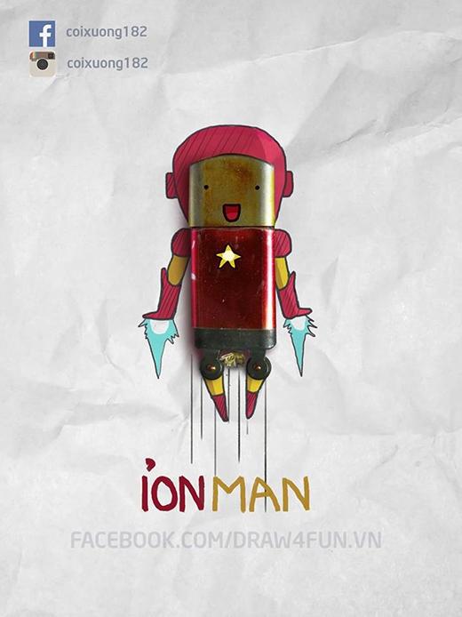 Đúng chất Người Sắt Iron Man với bật lửa cối nhé.
