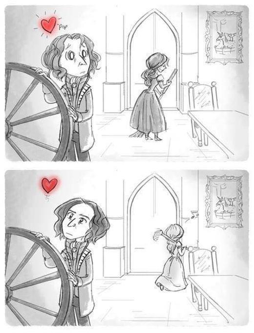"""Ngày nào cũng nhìn thấy em, """" rất gần nhưng lại rất xa"""", """"Có nên nói cho nàng biết tình yêu của mình không nhỉ?"""""""