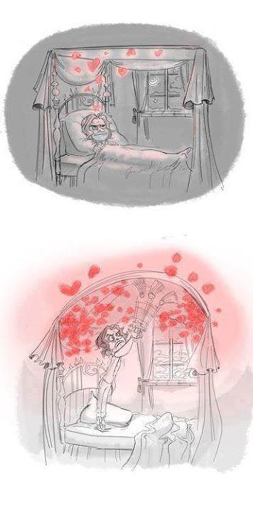 """Sao tình yêu nàng ngày càng nhiều khiến mình mệt mỏi và đau khổ nhiều hơn nữa thế này?"""""""