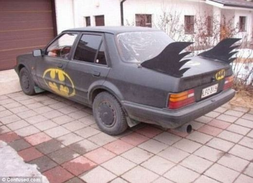 Lại xuất hiện thêm một fan cuồng của Batman