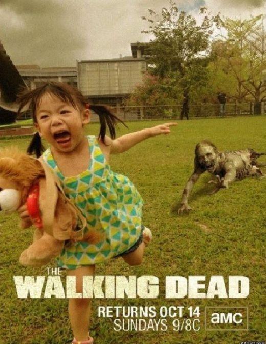 Poster mới nhất của phim The Walking Dead