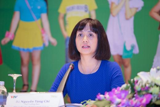 MC Tùng Chi là người chủ trì của buổi họp báo về chương trình Đồ Rê Mí 2015. - Tin sao Viet - Tin tuc sao Viet - Scandal sao Viet - Tin tuc cua Sao - Tin cua Sao