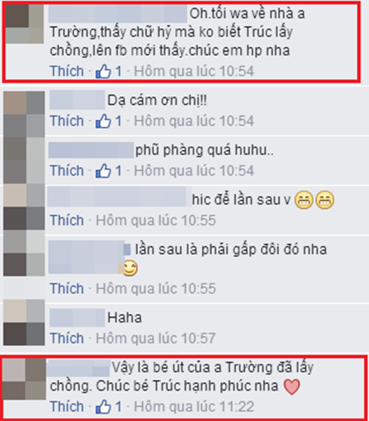 Bạn bè vào chúc phúc cho bé út nhà Đan Trường trên trang facebook cá nhân. - Tin sao Viet - Tin tuc sao Viet - Scandal sao Viet - Tin tuc cua Sao - Tin cua Sao