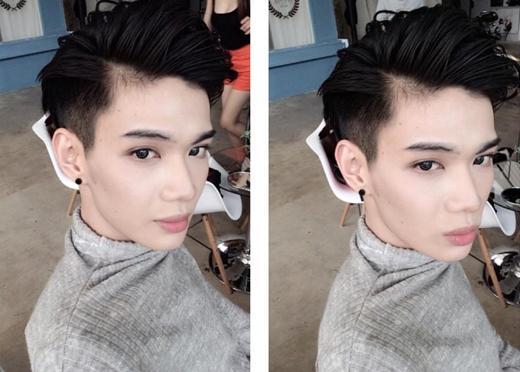 Nam ca sĩ Đào Bá Lộc vừa thay đổi kiểu tóc của mình, anh chàng đã cắt ngắn hơn một chút để mái tóc trông gọn gàng và nhìn anh cũng có vẻ mạnh mẽ, chững chạc hơn rất nhiều.