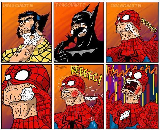 Phong cách cạo râu của siêu nhân cũng khác nhau.