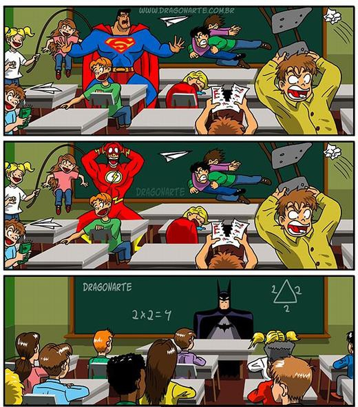 Batman rất có khả năng... bảo mẫu