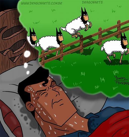 Khi Superman khó ngủ!