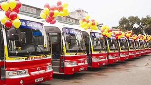 Những chiếc xe buýt điện còn mới tại Hà Nội