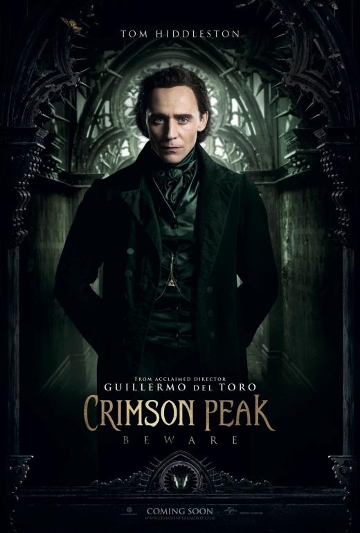 Crimson Peak tung poster nhân vật đầy ma mị